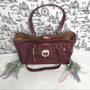 DKNY Wine Colored Handbag